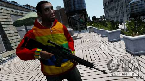 SIG SG 550 Sniper para GTA 4