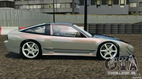 Nissan 240SX Kawabata Drift para GTA 4 esquerda vista