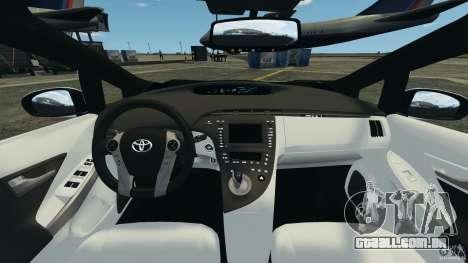 Toyota Prius NY Airport Service para GTA 4 vista de volta