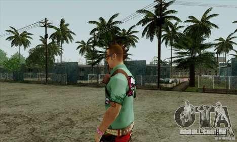 Substituto de pele Fam1 para GTA San Andreas terceira tela