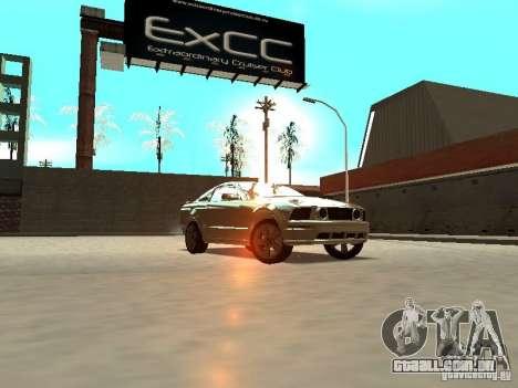 Ford Mustang GT para GTA San Andreas vista traseira