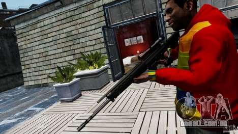 SIG SG 550 Sniper para GTA 4 segundo screenshot