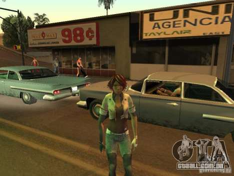 Remember Me Nilin para GTA San Andreas quinto tela