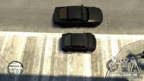 Ford Mustang Mini GT Beta para GTA 4 vista direita
