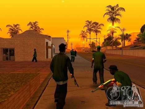 Grove Street Forever para GTA San Andreas segunda tela