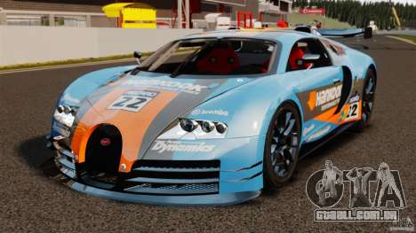 Bugatti Veyron 16.4 Body Kit Final para GTA 4