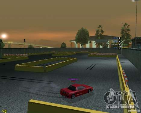 Circuito de tração para GTA San Andreas