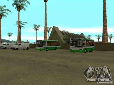 4-th ônibus v 1.0 para GTA San Andreas segunda tela