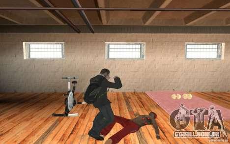 The combat system from GTA IV para GTA San Andreas terceira tela