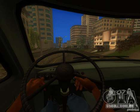 UAZ 330364 para GTA San Andreas vista traseira