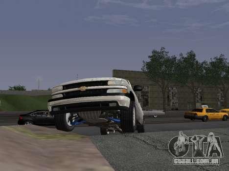 Chevorlet Silverado 2000 para GTA San Andreas vista interior
