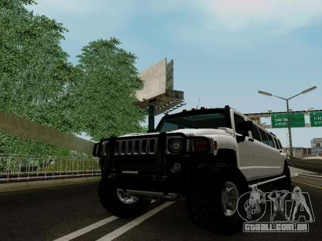 Hummer H3 Limousine para GTA San Andreas