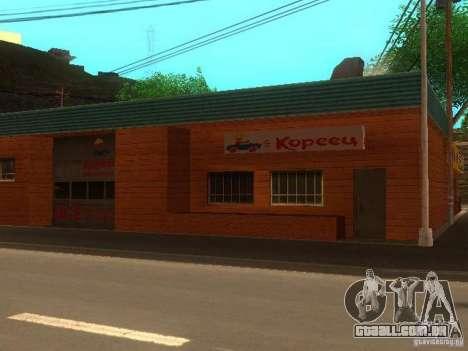Vila Stepanovo para GTA San Andreas terceira tela
