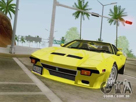 De Tomaso Pantera GT4 para GTA San Andreas esquerda vista