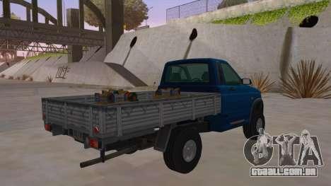 UAZ-2360 para GTA San Andreas vista direita