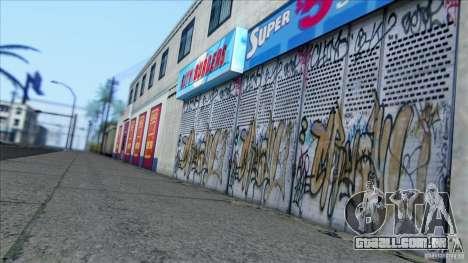 SA Beautiful Realistic Graphics 1.6 para GTA San Andreas sexta tela