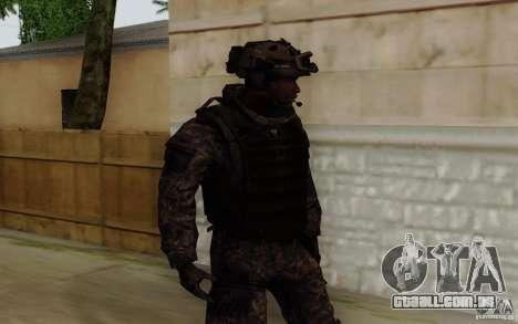Sargento Foley de CoD: MW2 para GTA San Andreas segunda tela