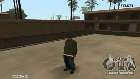 Skin Pack Groove Street para GTA San Andreas por diante tela
