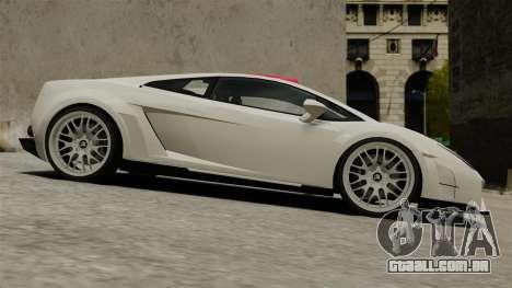 Lamborghini Gallardo Victory II 2010 HAMANN para GTA 4 esquerda vista