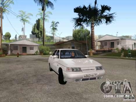 Dreno VAZ 2110 para GTA San Andreas esquerda vista