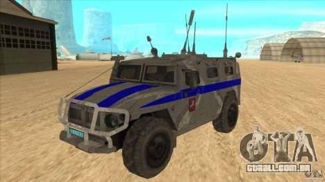 GÁS-23034 SPM-1 tigre para GTA San Andreas