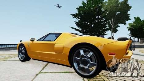 Ford GT 2005 v1.0 para GTA 4 vista direita