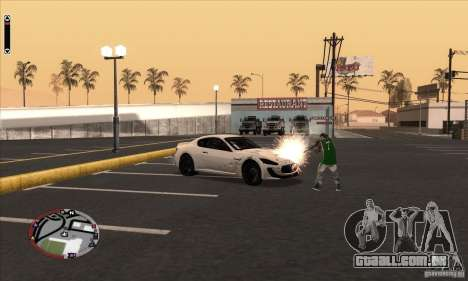GodPlayer v1.0 for SAMP para GTA San Andreas quinto tela