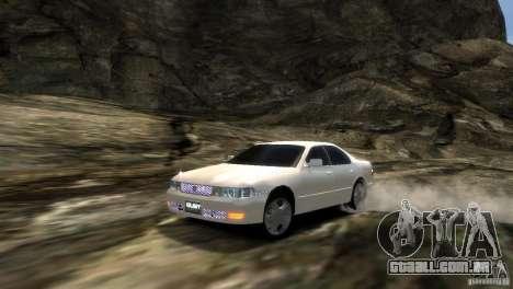 Toyota Chaser x90 para GTA 4 vista de volta