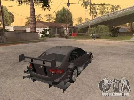 Audi A4 Touring para GTA San Andreas vista traseira