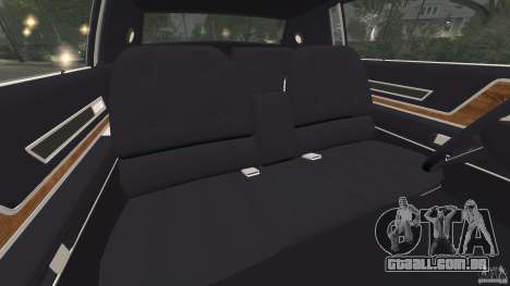 Cadillac Eldorado 1968 para GTA 4 vista interior