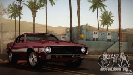 Shelby GT500 428 Cobra Jet 1969 para as rodas de GTA San Andreas