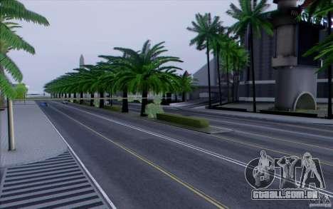 Estrada de HD v 3.0 para GTA San Andreas sexta tela
