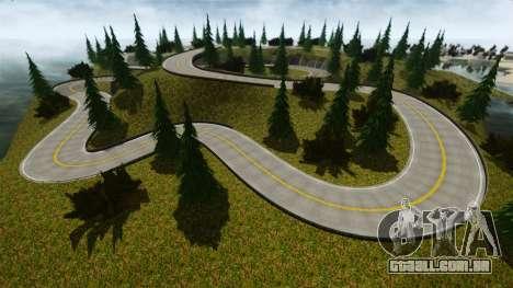 Edem Hill Drift Track para GTA 4 terceira tela