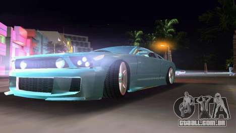 Ford Mustang 2005 GT para GTA Vice City vista direita