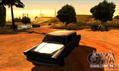 Ford Anglia 1959 para GTA San Andreas vista traseira