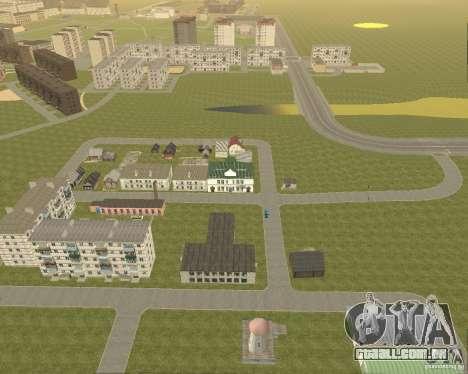 Novo campo de distrito dos sonhos para GTA San Andreas segunda tela