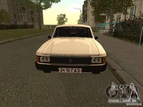 Volga GAZ 31013 para GTA San Andreas esquerda vista