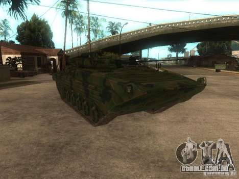 BMP-2 no COD MW2 para GTA San Andreas