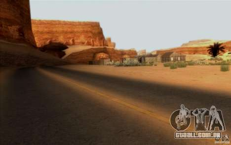 RoSA Project v1.0 para GTA San Andreas por diante tela