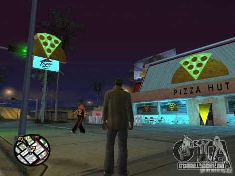 Novos restaurantes de texturas para GTA San Andreas sétima tela