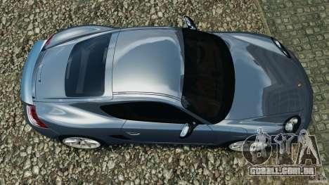 Porsche Cayman R 2012 para GTA 4 vista direita
