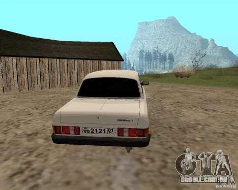 GAZ 31029 para GTA San Andreas vista direita