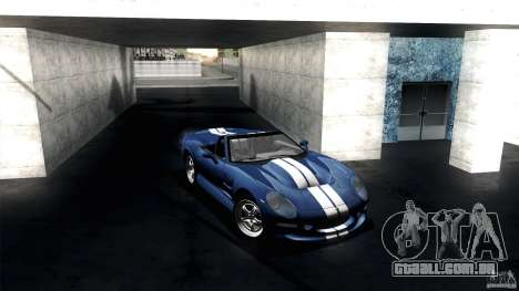 Shelby Series 1 1999 para GTA San Andreas vista traseira
