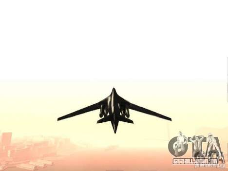 Tu 160 Black Jack para GTA San Andreas