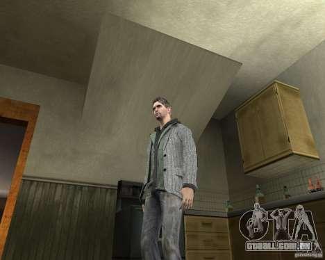 Alan Wake para GTA San Andreas segunda tela