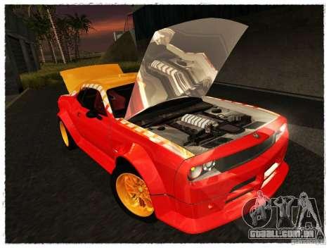 Dodge Challenger Calibri-Ace para GTA San Andreas vista direita
