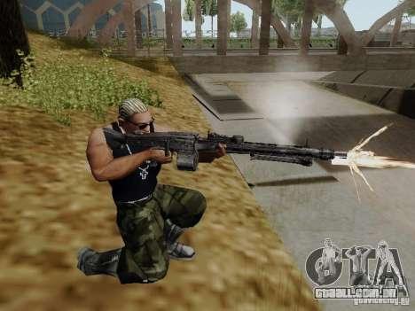 A metralhadora MG-42 para GTA San Andreas segunda tela