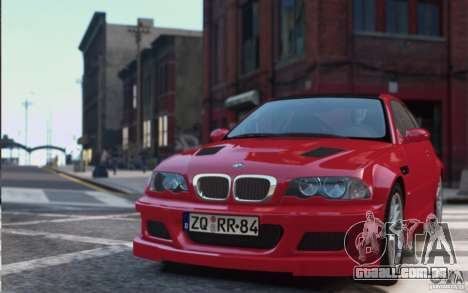 BMW M3 E46 Street Version para GTA 4
