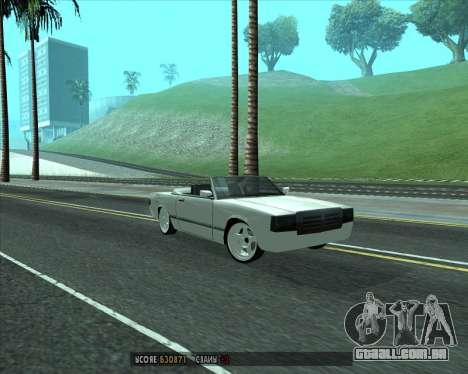 Feltzer v1.0 para GTA San Andreas esquerda vista
