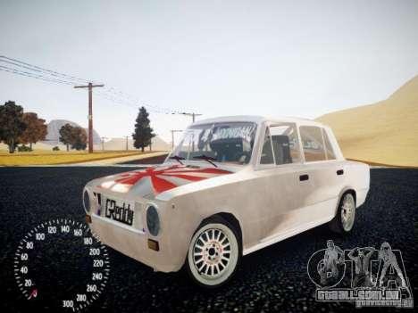 Vaz-2101 Drift Edition para GTA 4 vista de volta